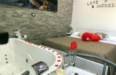 Camera con vasca idromassaggio Jacuzzi