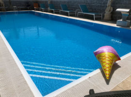 Relax in piscina Pompei