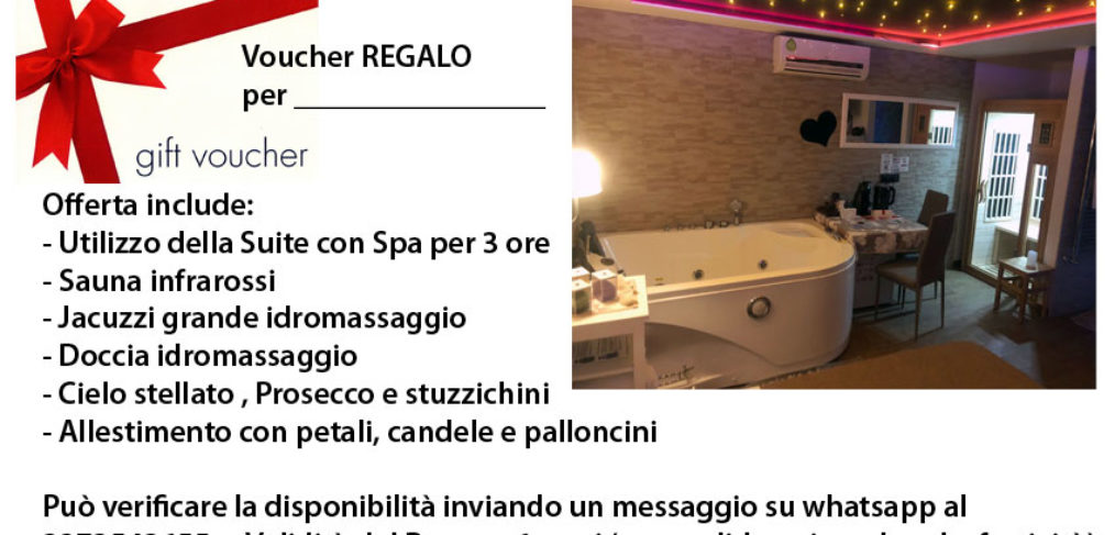 Gift Voucher Suite SPA privata