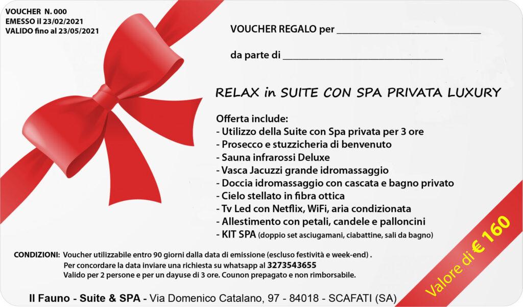 Gift Voucher Suite SPA privata