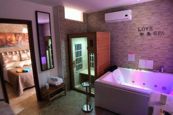 Suite con Spa MAXI - a partire da 120 €