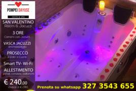 3h - Camera & Jacuzzi Idromassaggio - € 240