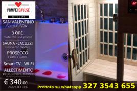 3h - Suite con SPA privata - € 340