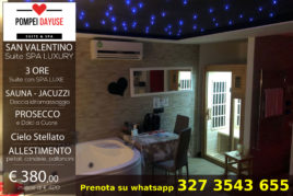 3h - Suite con SPA LUXURY - € 380