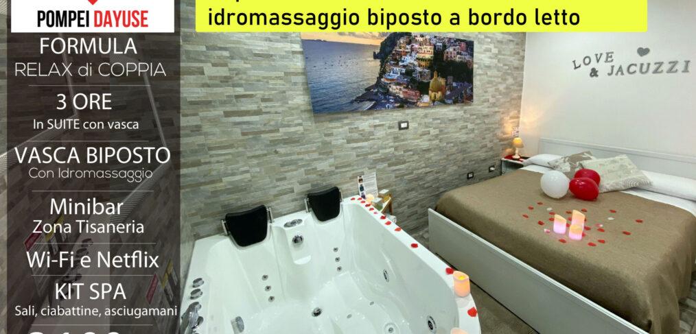 Offerta camera con vasca idromassaggio 100 euro