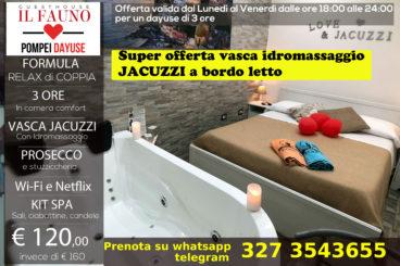 Camera con Jacuzzi - 3 ore 120 €