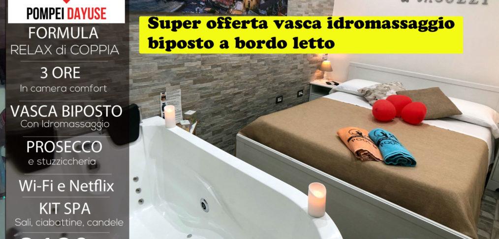 Offerta camera con vasca idromassaggio 120 euro