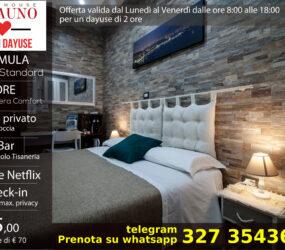 Offerta camera standard 45 euro