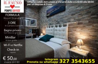 Offerta camera standard 50 euro