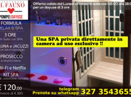 Offerta Suite con SPA privata 120 euro
