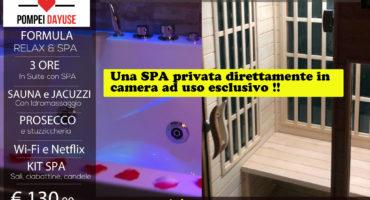 Offerta Suite con SPA privata 130 euro