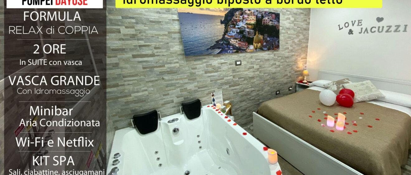 Offerta suite con vasca idromassaggio 70 euro