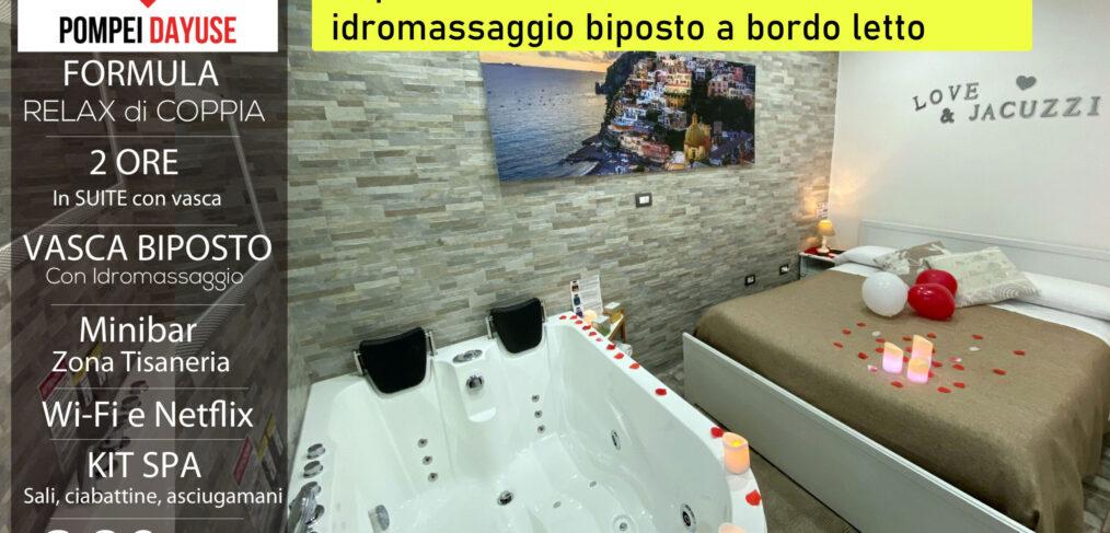 Offerta camera con vasca idromassaggio 80 euro