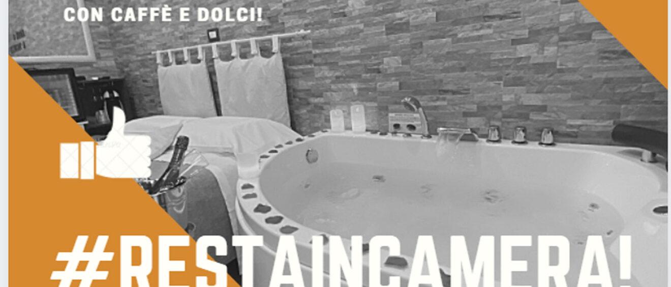 Pernottamento al costo di un dayuse in camera con vasca idromassaggio