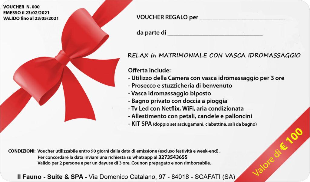 Gift Voucher Camera idromassaggio