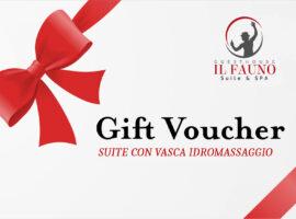 Gift Voucher Suite vasca idromassaggio